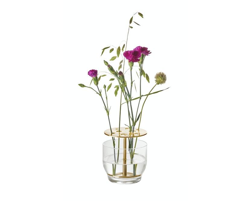 Ikebana Vase klein - messing