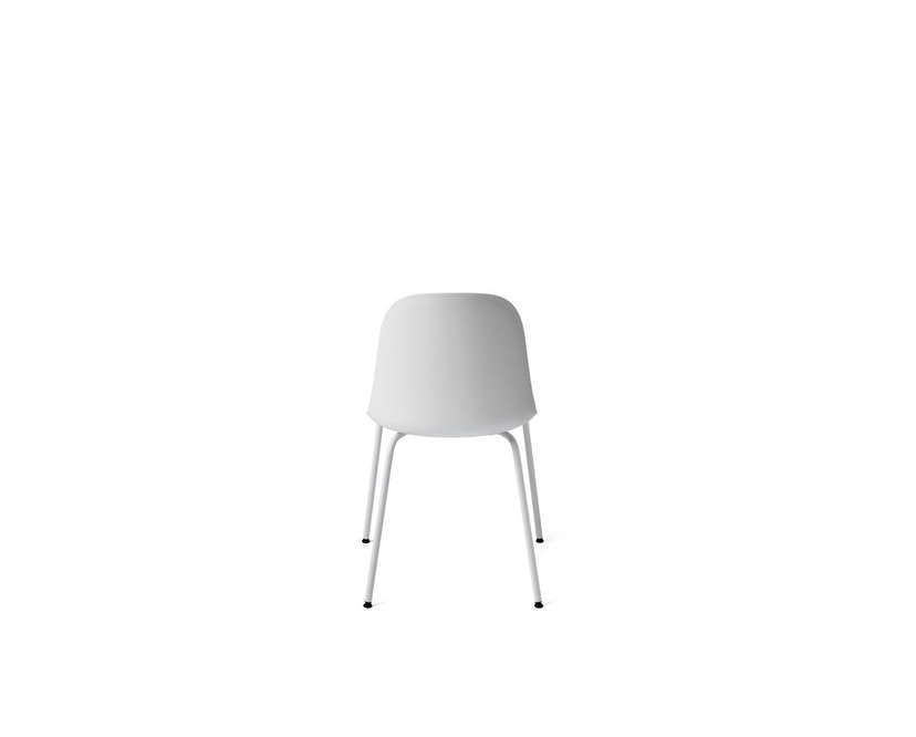 Menu - Harbour Dining Side Chair ohne Polster, Light Grey Steel - light grey - 2