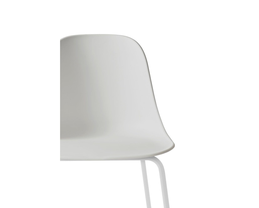 Menu - Harbour Dining Side Chair ohne Polster, Light Grey Steel - light grey - 3