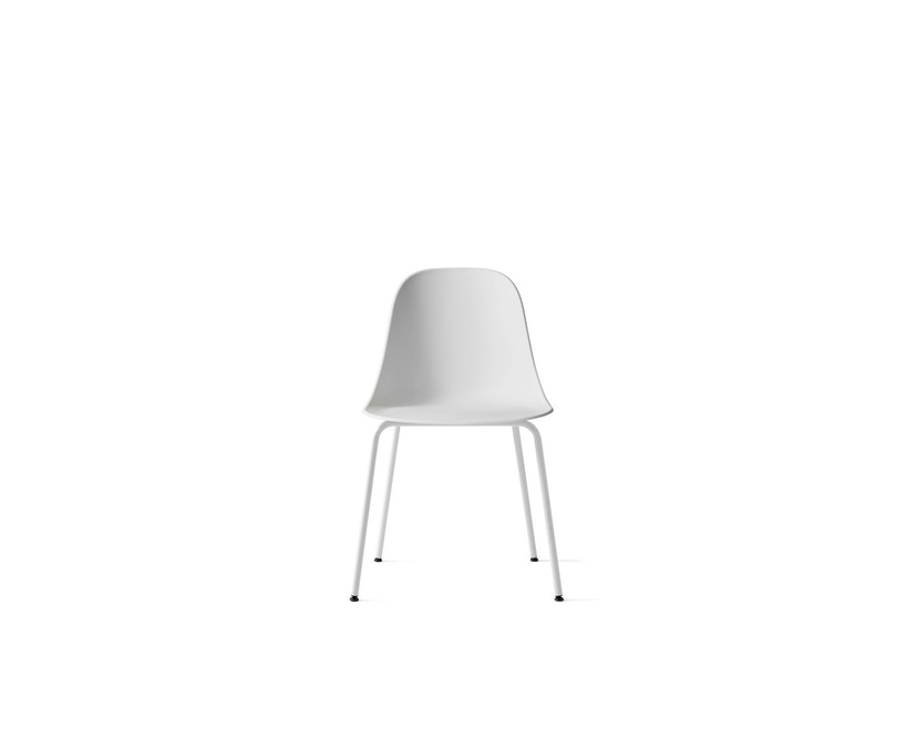 Menu - Harbour Dining Side Chair ohne Polster, Light Grey Steel - light grey - 4