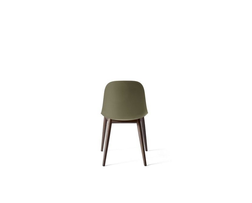Menu - Harbour Dining Side Chair ohne Polster, Dark Stained Oak - olive - 2
