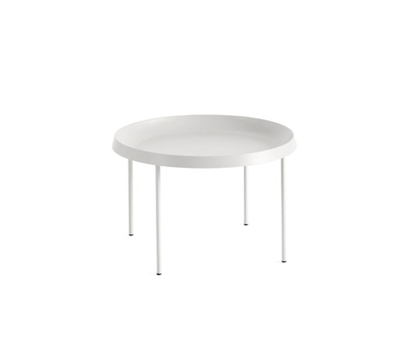 HAY - Tulou Beistelltisch - off white - Ø55 - 1