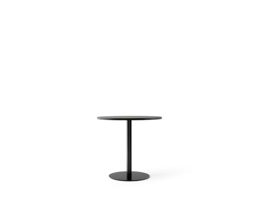 Menu - Harbour Column Counter Table Ø80cm, Höhe 92,7cm - Charcoal Linoleum - 1