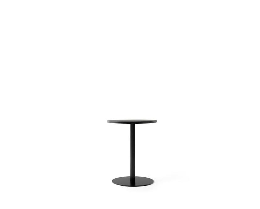 Menu - Harbour Column Counter Table Ø60cm, Höhe 92,7cm - Charcoal Linoleum - 1