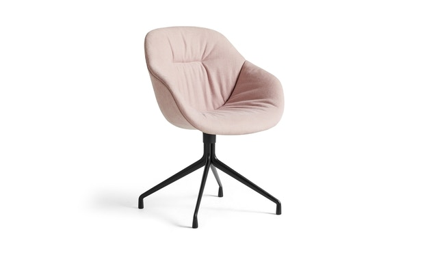 HAY - About A Chair AAC 121 Soft - Kvadrat Linara 415 - zwart - 1