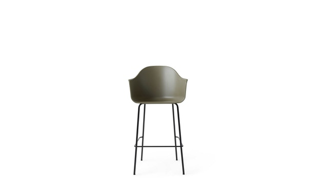 Menu - Harbour Bar Chair ohne Polster - Olive - 1