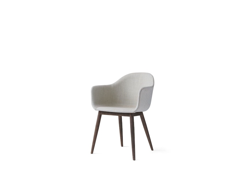 Menu - Harbour Dining Chair mit Polster Remix2, 233 - Dark Stained Oak - 2