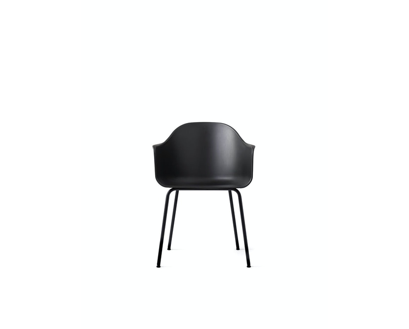 Menu - Harbour Dining Chair ohne Polster, black - Black Steel  - 5