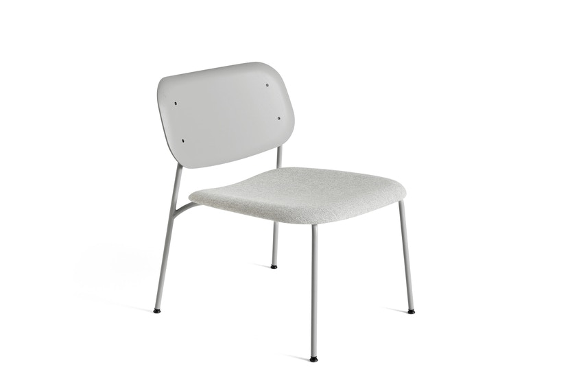 Soft Edge 10 Lounge Stuhl gepolstert