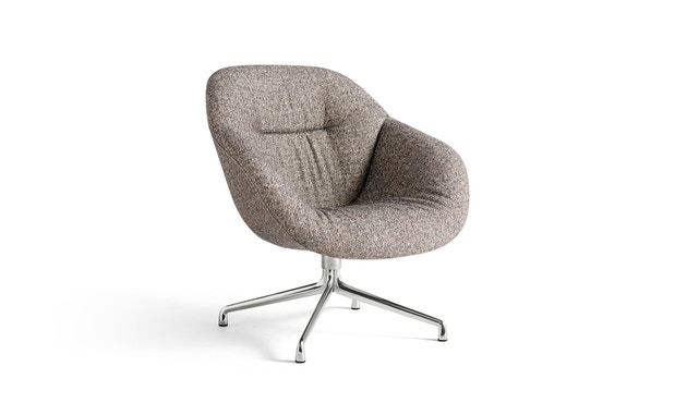 About A Lounge Chair AAL 81 Soft - Kvadrat Swarm Multicolour