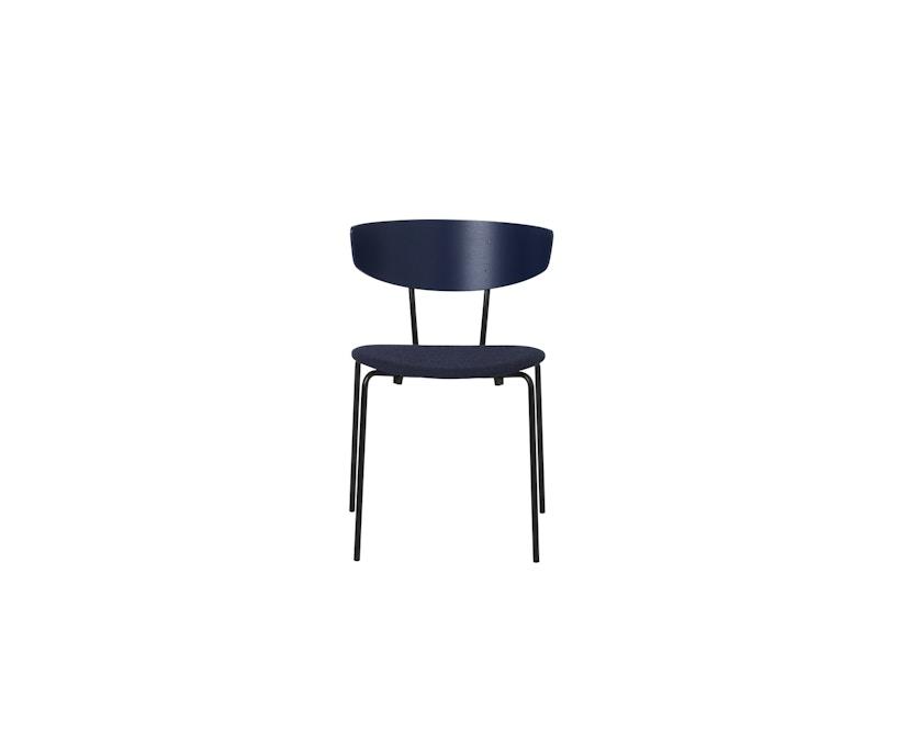 ferm LIVING - Herman stoel gestoffeerd - donkerblauw/ donkerblauw - 4