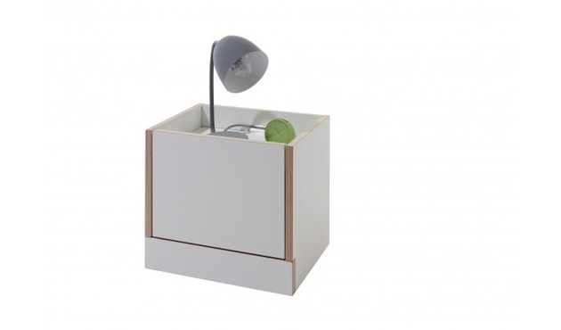 Müller Möbelwerkstätten - Flai Nachttisch - weiß - 1