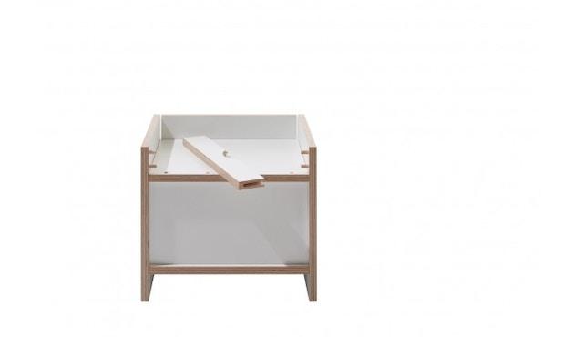 Müller Möbelwerkstätten - Flai Nachttisch - weiß - 3