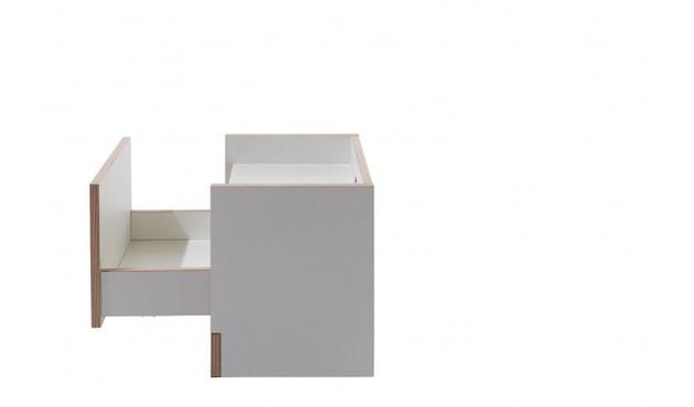 Müller Möbelwerkstätten - Flai Nachttisch - weiß - 4