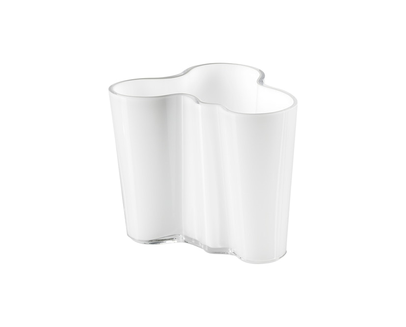 Iittala - Alvar Aalto Vase 9,5cm - opalweiß - 1