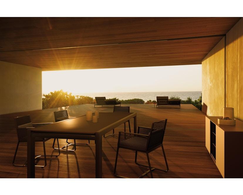 Kettal - Landscape Clubsessel - maganese/black/ fog - 2