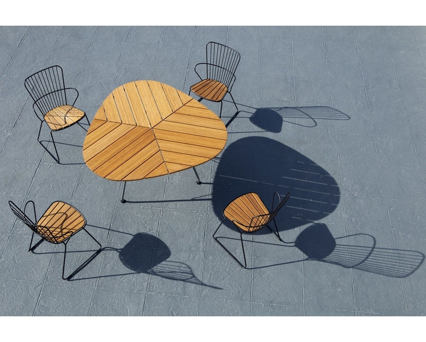 Houe - Paon Dining Stuhl - Paprika  - 7