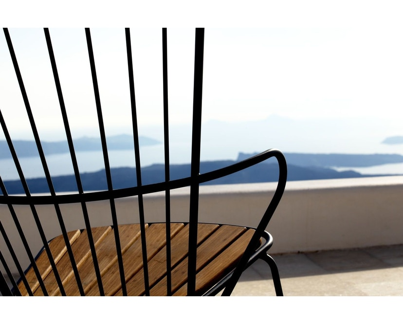 Houe - Paon Lounge Stuhl - Black - 5