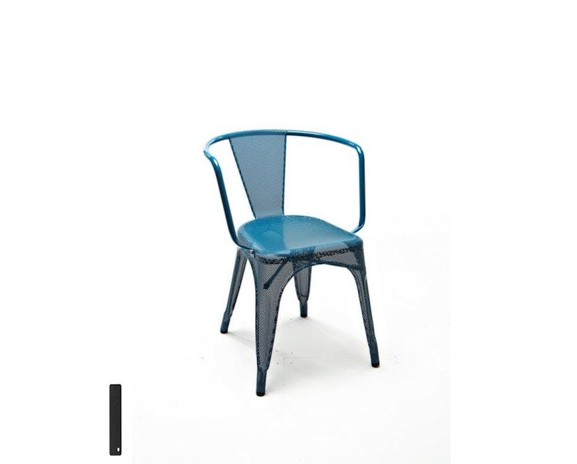 Tolix - A97 Armlehnstuhl Perforiert - outdoor - schwarz - 2