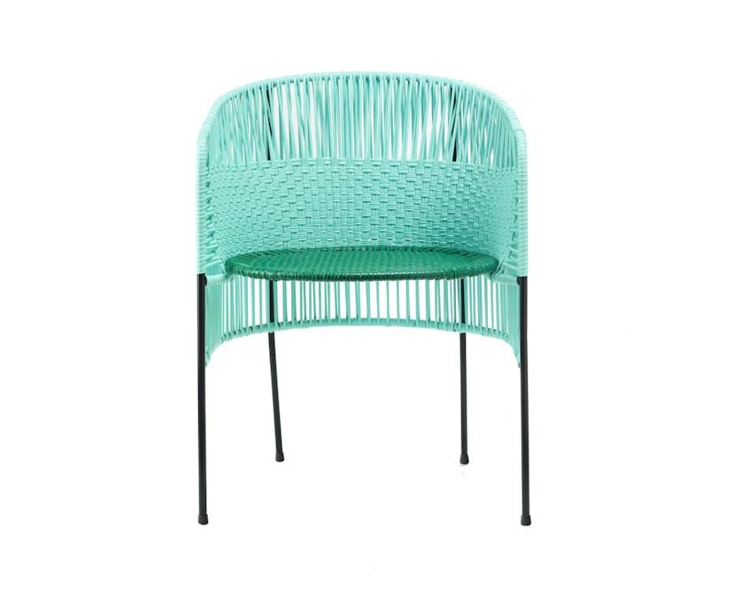 Ames - CARIBE Stuhl - mint/ grün/ schwarz - 1