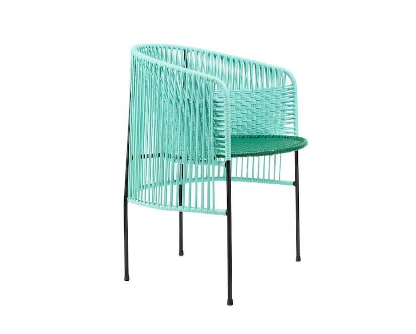 Ames - CARIBE Stuhl - mint/ grün/ schwarz - 2