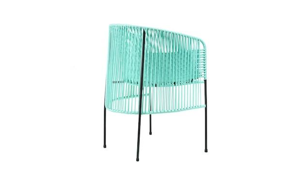 Ames - CARIBE Stuhl - mint/ grün/ schwarz - 3