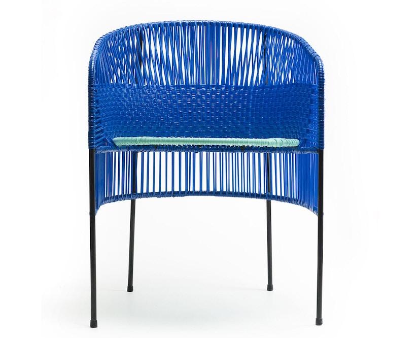 Ames - CARIBE Lounge-fauteuil - blauw/mint/zwart - 1