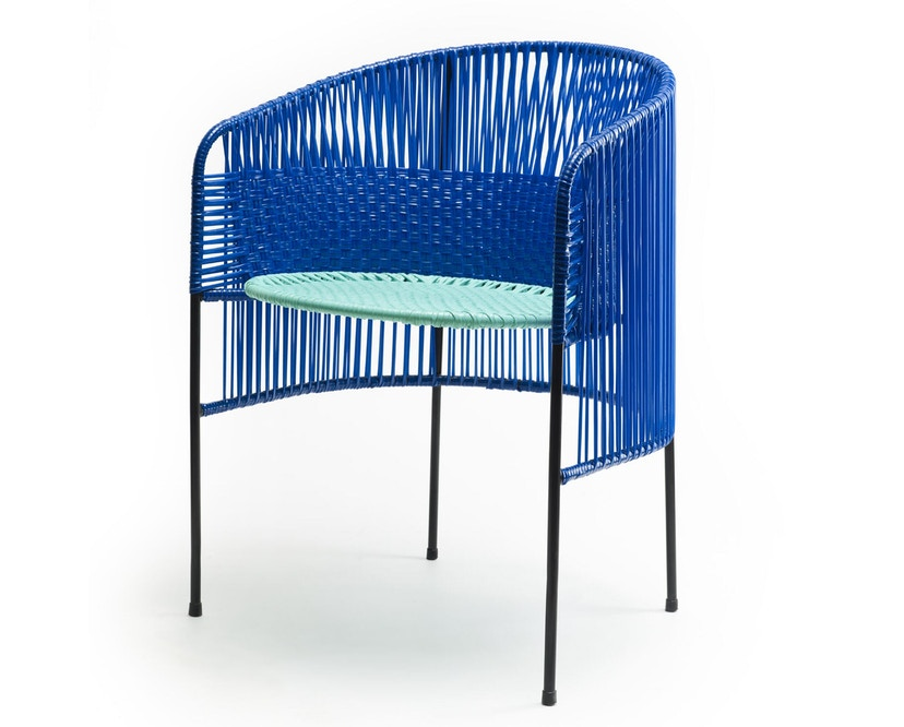 Ames - CARIBE Lounge-fauteuil - blauw/mint/zwart - 2