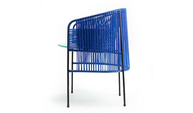 Ames - CARIBE Lounge-fauteuil - blauw/mint/zwart - 3