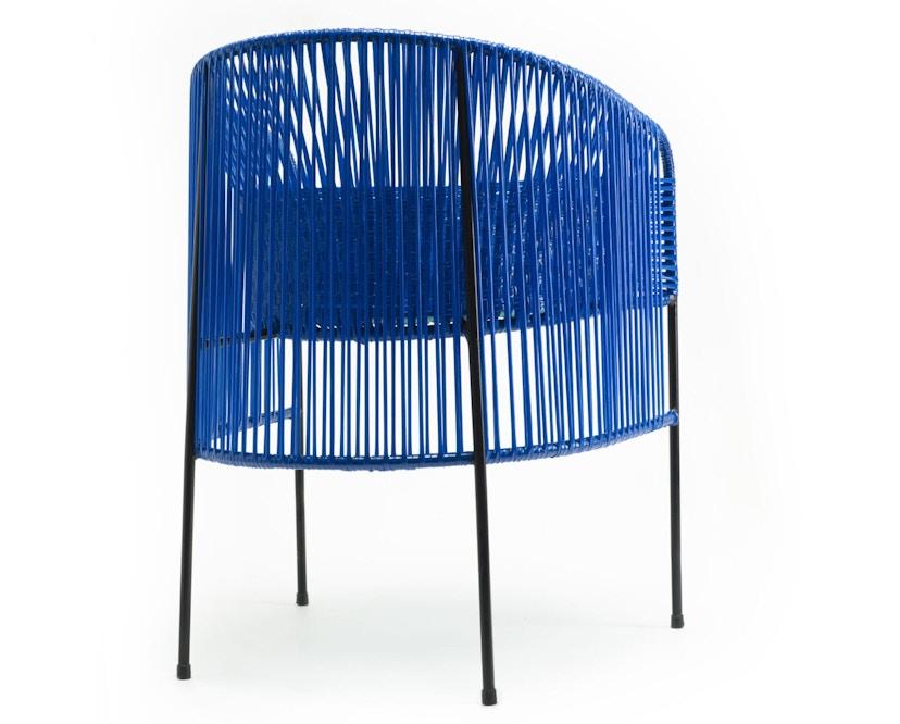Ames - CARIBE Lounge-fauteuil - blauw/mint/zwart - 4