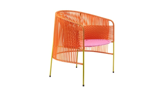 Ames - CARIBE  Loungesessel - orange/ rosa/ curry - 2