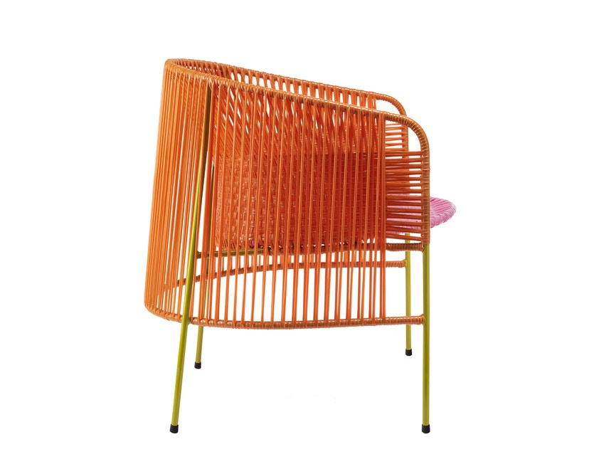 Ames - CARIBE  Loungesessel - orange/ rosa/ curry - 3