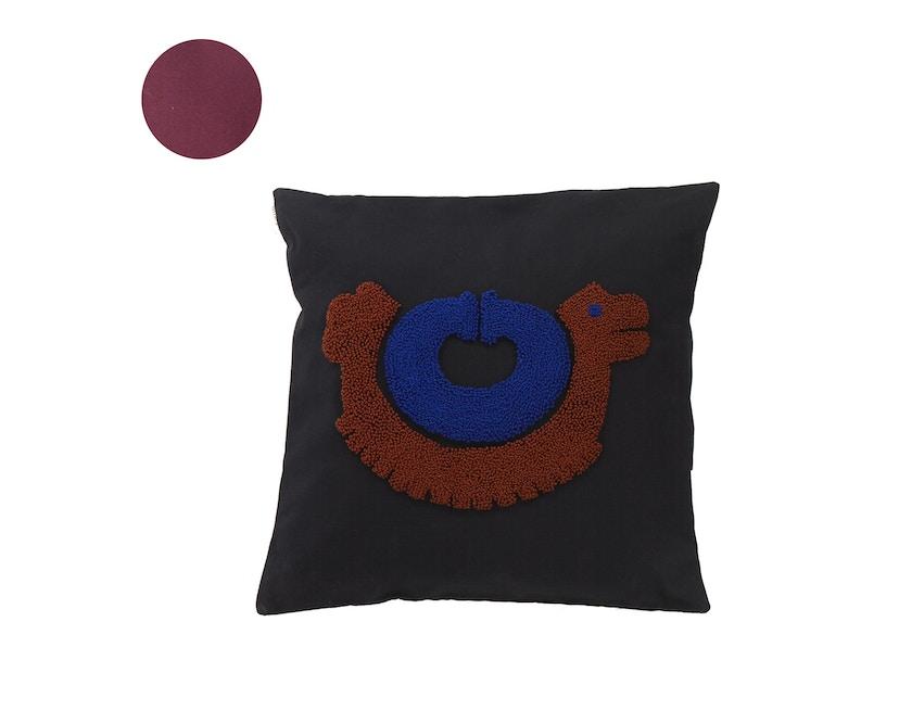 Ames - Nido Kissen Pichu - terracotta - 0