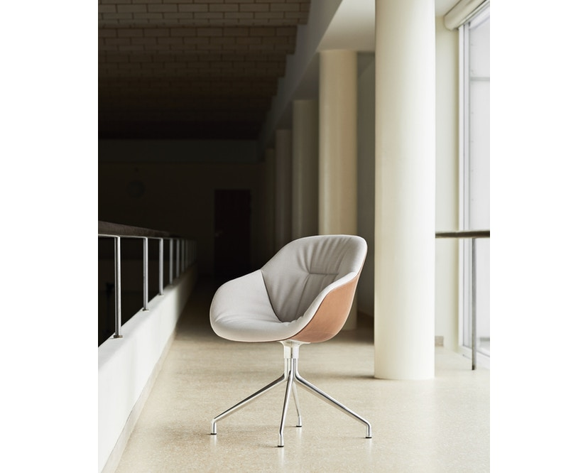 HAY - About A Chair AAC 121 Soft Duo - Kvadrat Steelcut Trio 226/ Silo 229 - 3