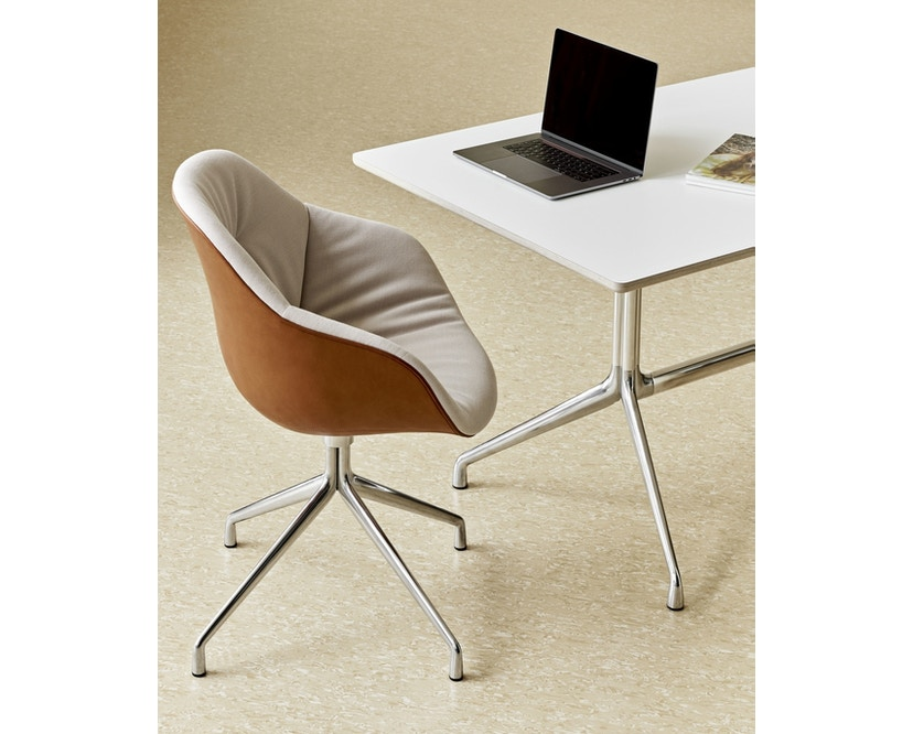 HAY - About A Chair AAC 121 Soft Duo - Kvadrat Steelcut Trio 226/ Silo 229 - 4