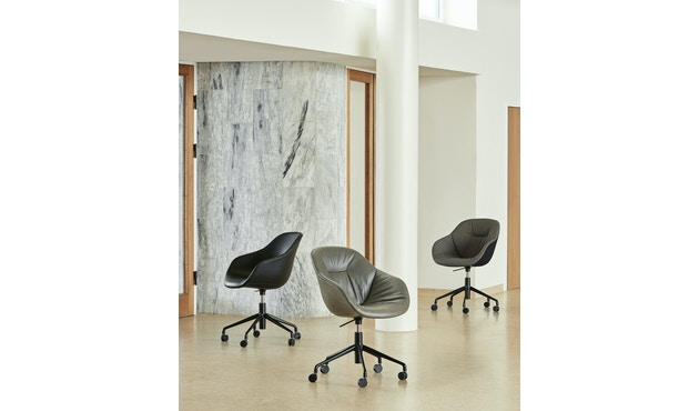 HAY - About A Chair AAC 153 Soft - Kvadrat Silk Silo 855 - 2