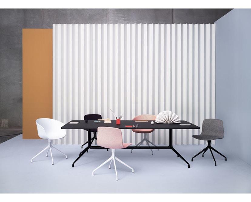 HAY - About a Chair AAC 21 - bezogene Sitzschale - Remix133 - Aluminium poliert - 10