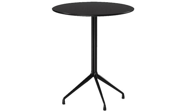 HAY - About A Table AAT 20 - Statafel - Linoleum zwart, rand zwart - 3