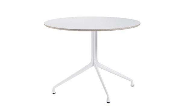 HAY - About A Table AAT20 - Ø80 x 73 cm - Gestell weiß/Tischplatte weiß - 4