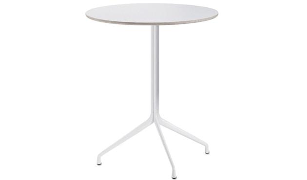 HAY - About A Table AAT20 Table haute - stratifié blanc, bordure contreplaqué - 3