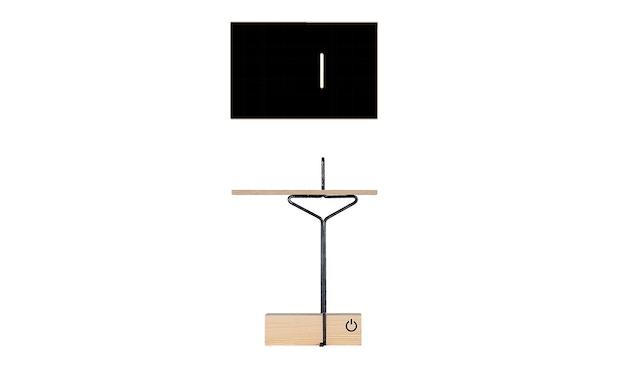 Moormann - Abgemahnt Beistelltisch - schwarz - 5