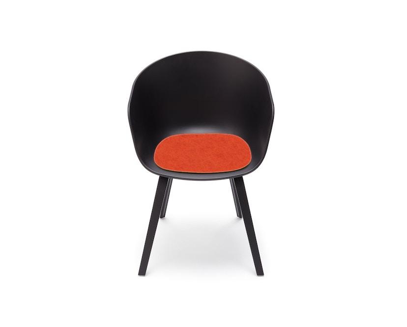 Hey-Sign - Sitzauflage AAC About A Chair - 20 mango mit Antirutsch - 2