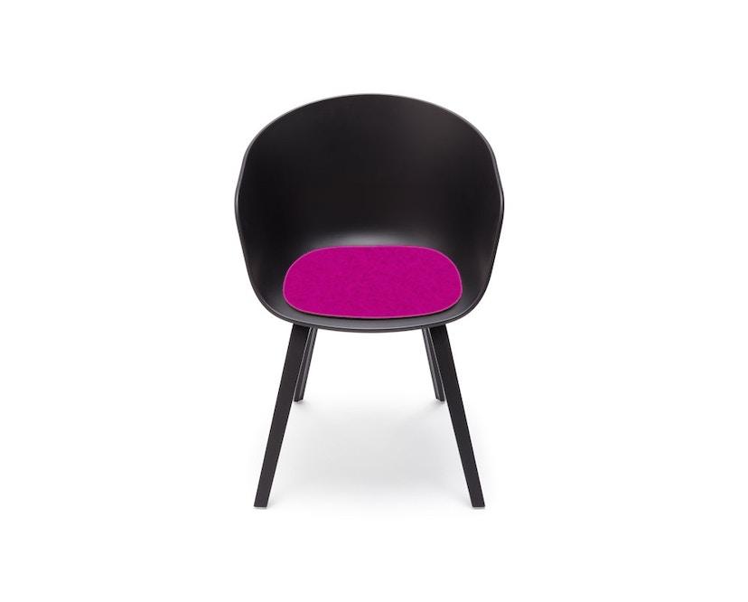 Hey-Sign - Sitzauflage AAC About A Chair - 30 maigrün mit Antirutsch - 32 roze - 2