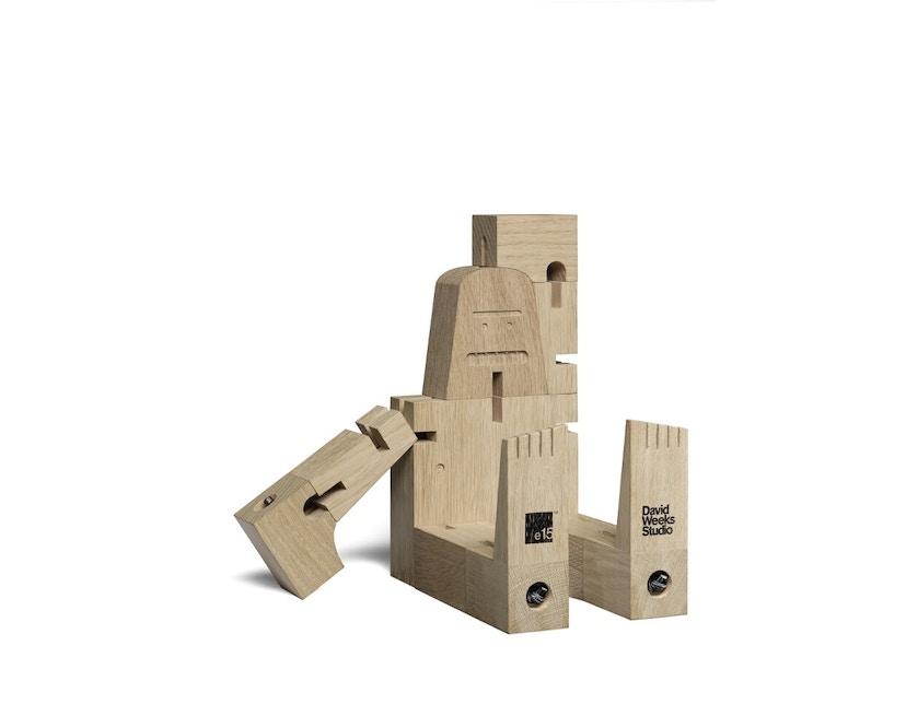 E15 - Mr. B - Holzfigur - 4