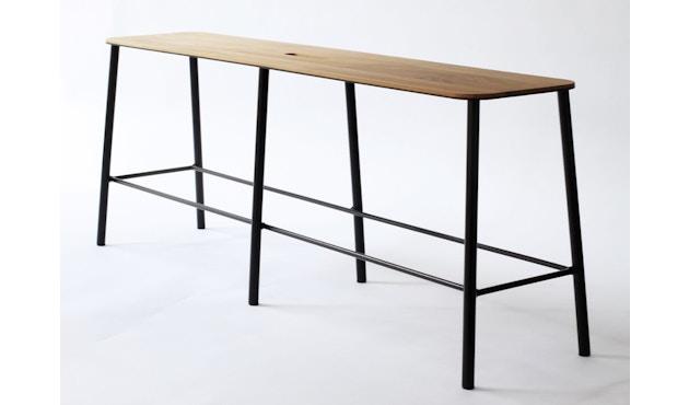 Frama - Adam Bank - schwarz - 120 cm - 1