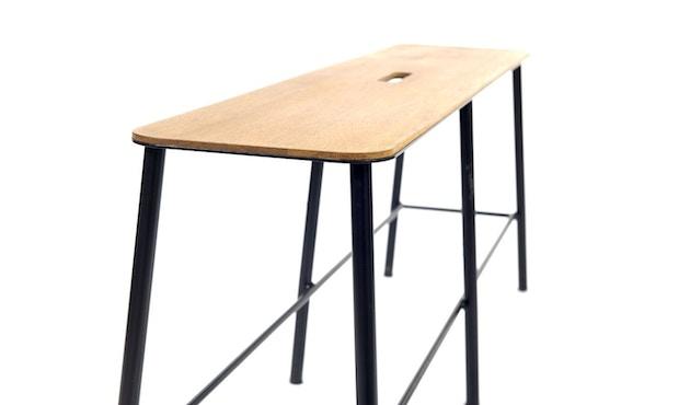 Frama - Adam Bank - schwarz - 120 cm - 2