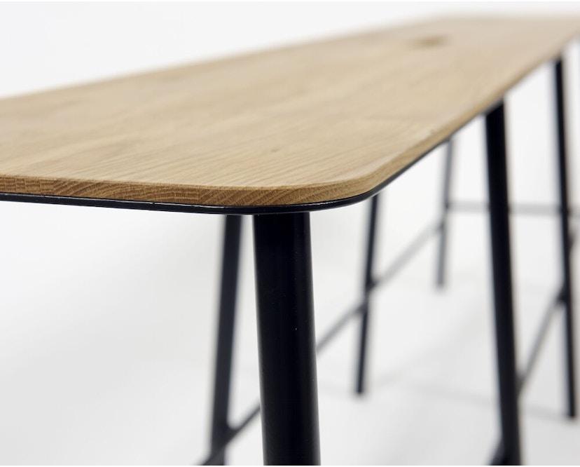 Frama - Adam Bank - schwarz - 160 cm - 4