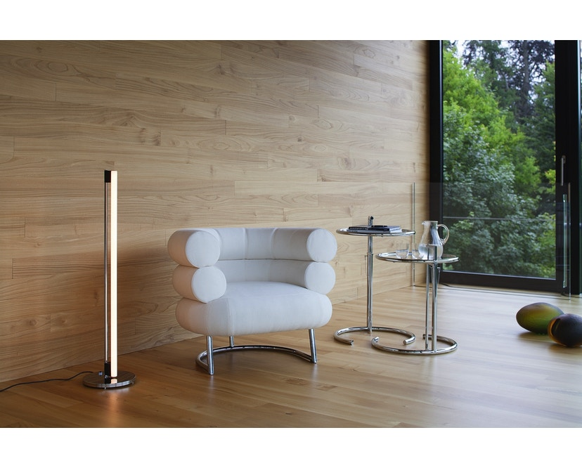 Classicon - Adjustable Table E 1027 - Chrom - Kristallglas klar - 3