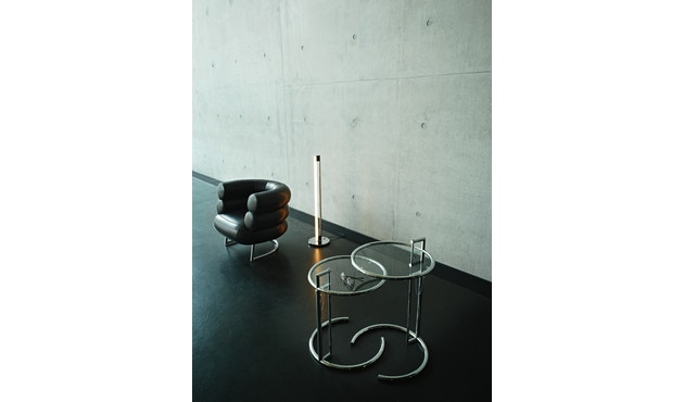 Classicon - Adjustable Table E 1027 Black Version - Kristallglas klar - 8