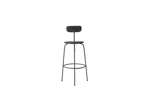 Menu - Afteroom Bar Chair - Leder  - schwarz - 2